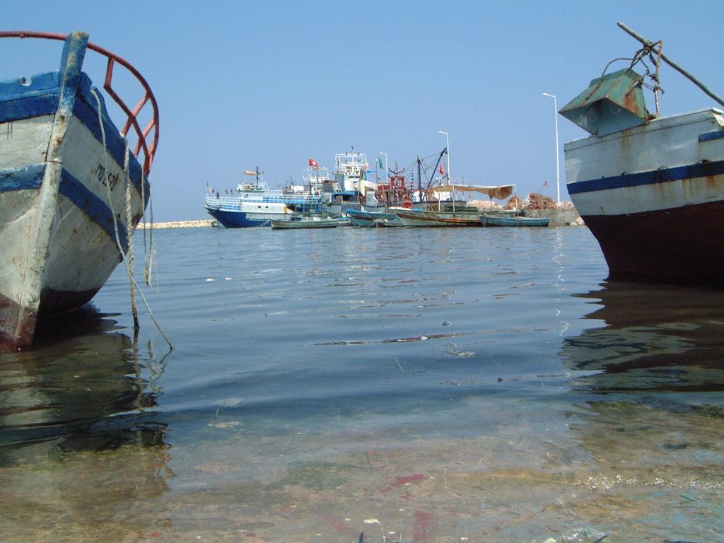 Entre bateaux